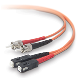 Multimode Duplex Fiber Patch Cable, ST-SC P-F2F20207