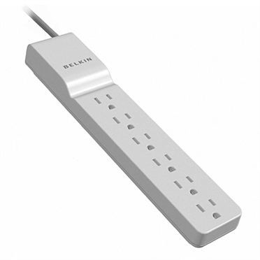 6 Outlet Home/Office Surge Protector -$ HeroImage