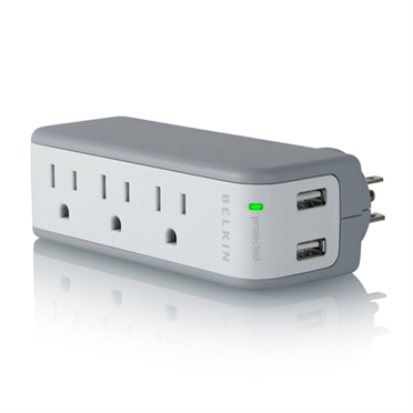 Mini Surge Protector with USB Charger -$ HeroImage