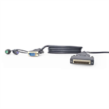 OmniView™ QuadBus Serie Dual-Port PS/2 KVM-Kabel P-F1D9400