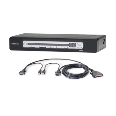 OmniView® PRO3 4-Port USB & PS/2 KVM Switch & USB Cable -$ HeroImage