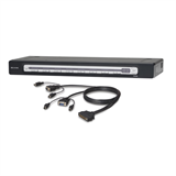 OmniView® PRO3 8-Port USB & PS/2 KVM Switch & PS/2 Cable Bundle P-F1DA108Z-B