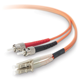 LC / ST Multimode 62.5/125 µm Duplex Fibre Patch Cable P-F2F202L0