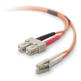Belkin Fiber Optic Cable; Multimode LC/SC Duplex MMF, 62.5/125 P-F2F202L7