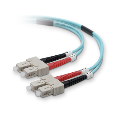 Fiber Patch Cable 10 Gig Aqua 50/125 SC/SC -$ HeroImage