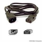 Belkin PRO Series Computer-Style AC Power Extension Cable P-F3A102