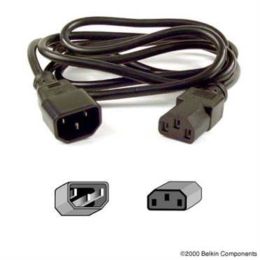 Belkin PRO Series Computer-Style AC Power Extension Cable -$ HeroImage