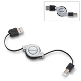 Retractable Hi-Speed USB 2.0 Cable, A/B P-F3U133-RTC