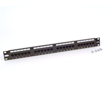 24-Port CAT 5e Patch Panel -$ HeroImage