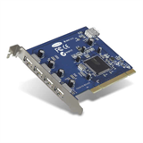 Hi-Speed USB 2.0 5-Port PCI-Karte P-F5U220