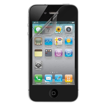 TrueClear Anti-Smudge Screen Protector for iPhone 4/4S - 2 Pack  -$ HeroImage