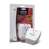 1-Outlet Home Series SurgeCube P-F9H100-CW