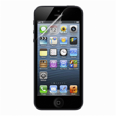 TrueClear High Definition Retina Screen Protector for iPhone 5  -$ HeroImage