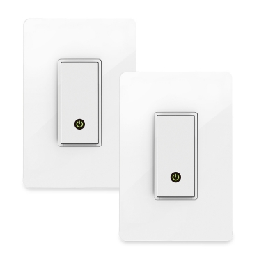 Wemo WiFi Smart Light Switch 2Pack