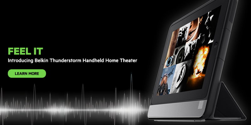 Thunderstorm handheld Home Theater