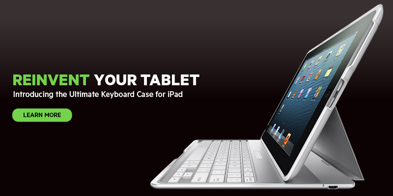 Ultimate Keyboard Case for iPad