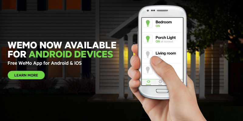 Free WeMo App for Android and iOS
