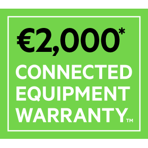 2.000 EURO CONNECTED EQUIPMENT WARRANTY