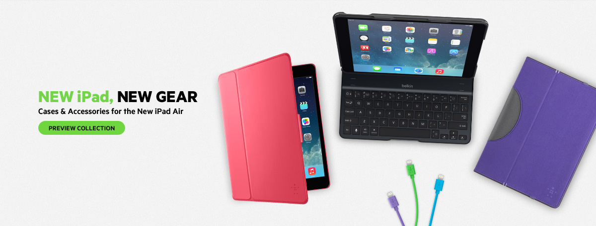 Cases & Accessories for the New iPad Air