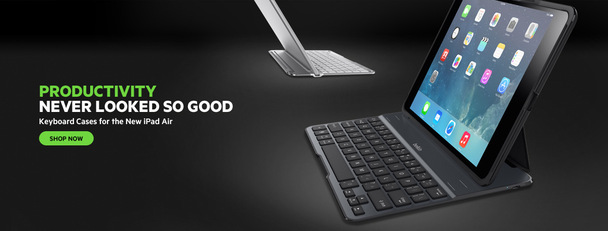 iPad Air Keyboard Cases