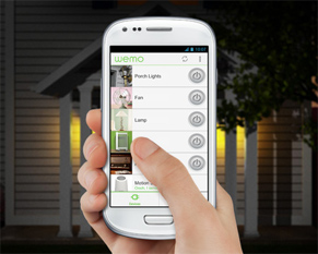 Smartphone Light Switch wemo® wi-fi smart light switch