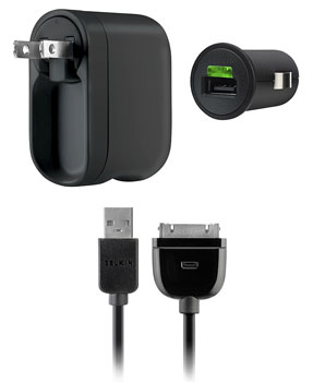 Charger Kit with 30-Pin to USB Cable