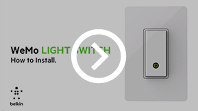 Wemo Light Switch is compatible with regular faceplates