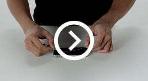 Belkin screen protector for iPhone 4 4S installation video