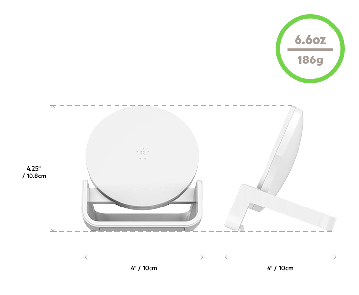Wireless Charging Stand Dimensions