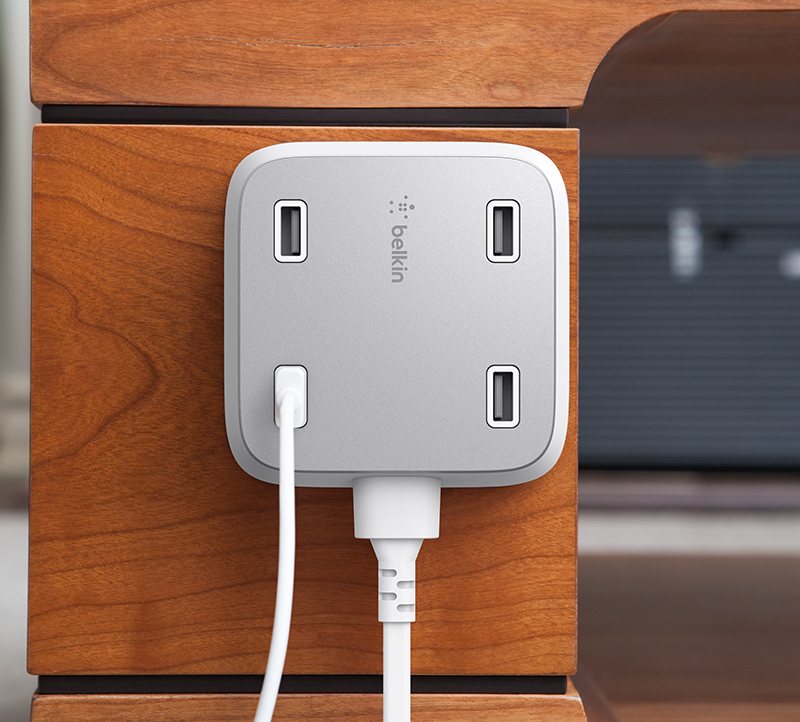 Family RockStar 4-PORT USB HOME CHARGER