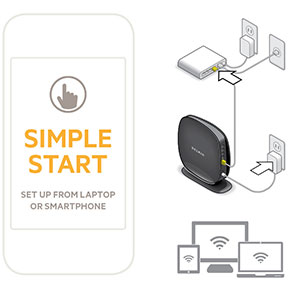 Belkin AC1900 Simple Start Easy Setup