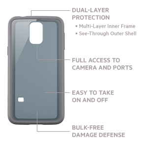 AIR PROTECT™ Grip Vue Protective Case for GALAXY S5