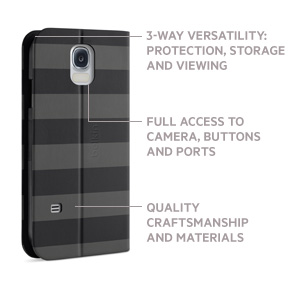 Stripe Folio Galaxy S5 Case