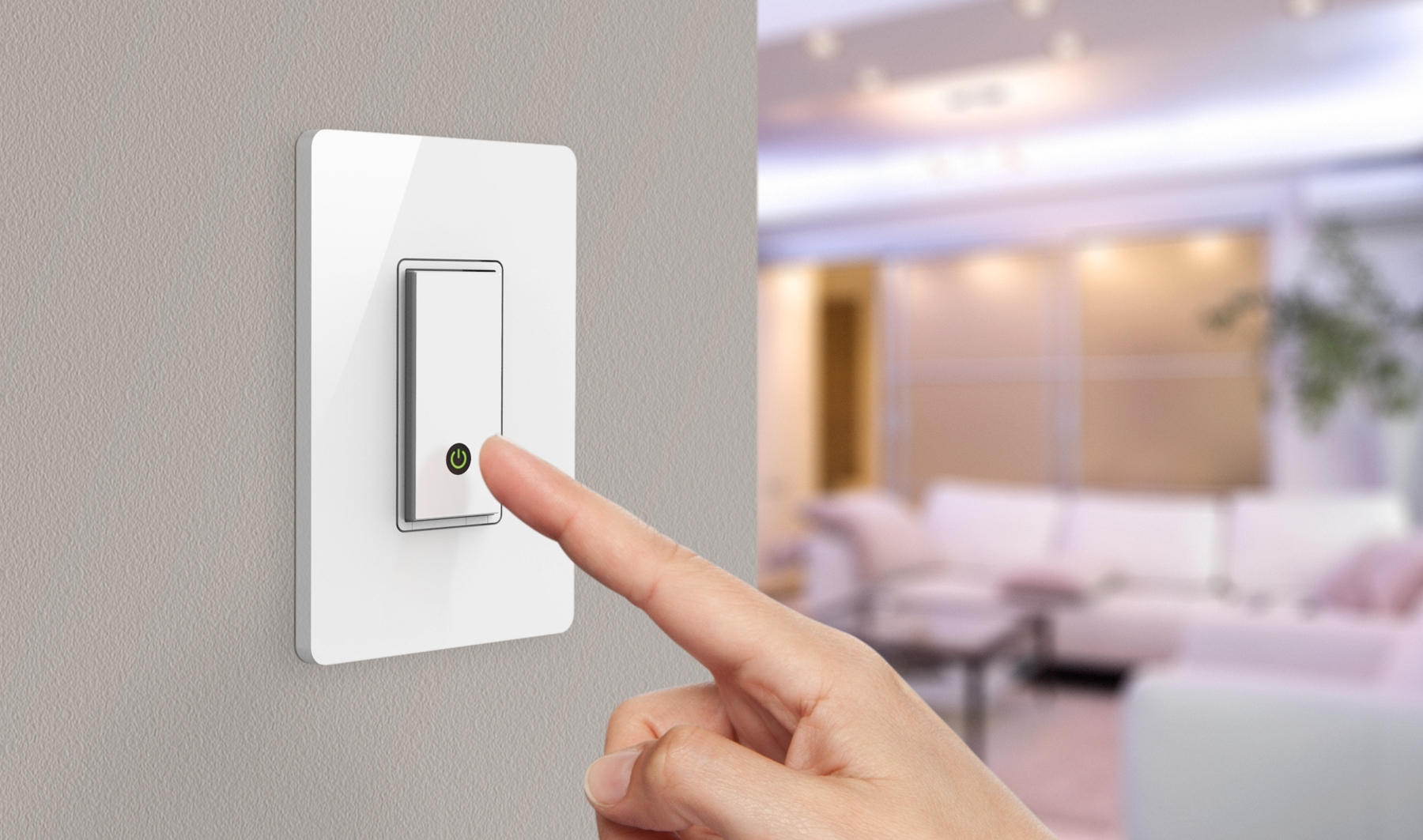 Press release page for Wemo light switch