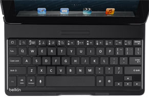 Belkin Ultimate Keyboard Case for iPad - Comfortable, Well-Spaced Keys for Faster Typing