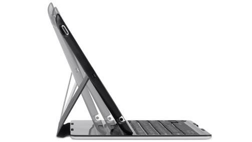 iPad case with keyboard at any angle