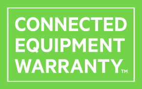 connected equipment warranty icon