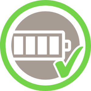 Pictogram 'batterijniveau'