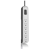 6-outlet Surge Protector with 2.5ft Power Cord -$ HeroImage