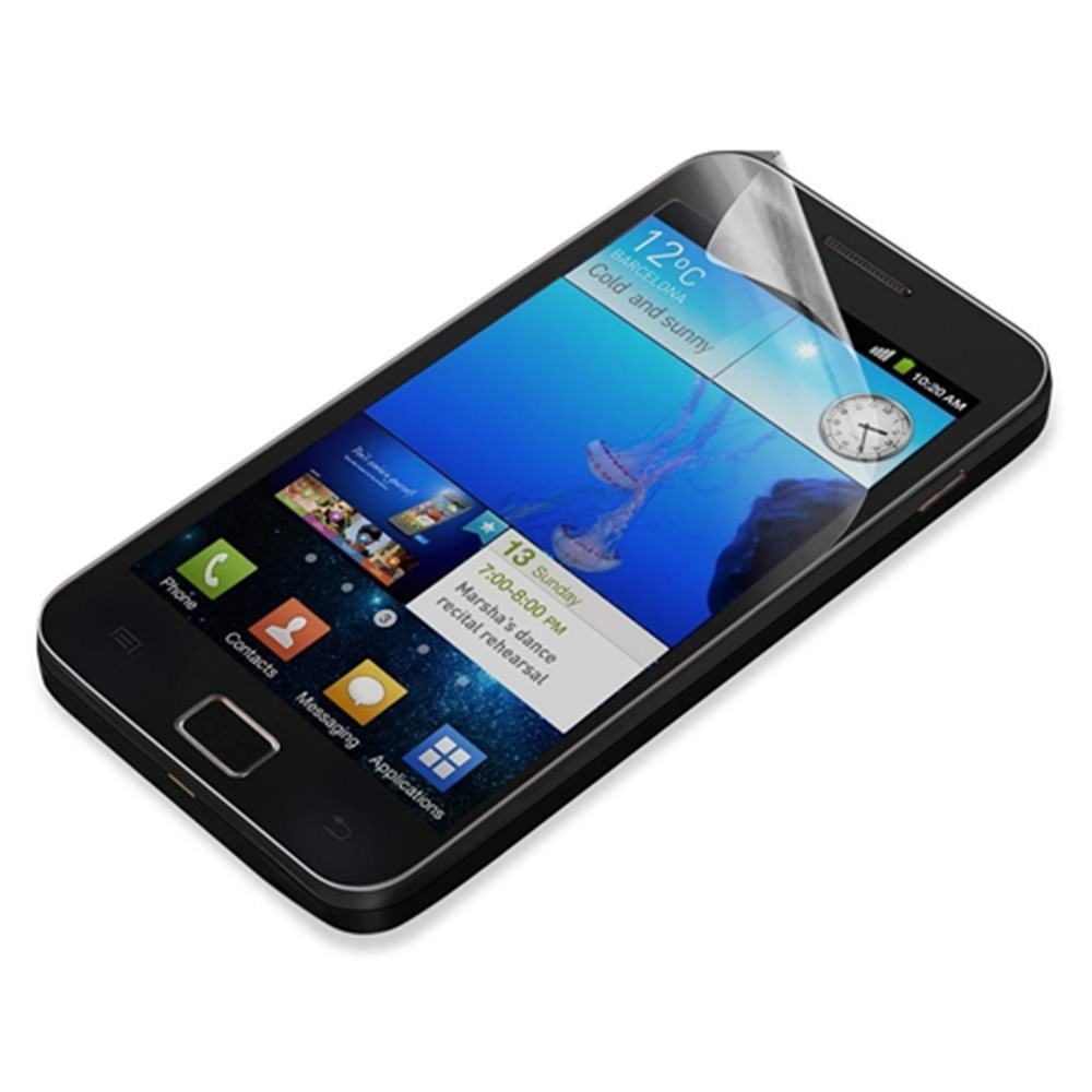 TrueClear Transparent Screen Protector for Galaxy SII - HeroImage