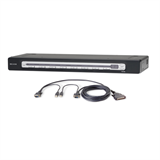 PRO3 8-Port KVM Switch PS/2 & USB In/Out Bundled with USB Cables -$ HeroImage