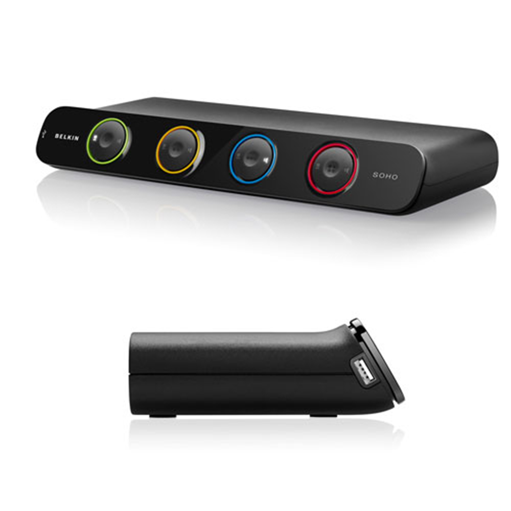 SOHO KVM Switch, DVI & USB - HeroImage
