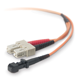Multimode Duplex Fiber Patch Cable, SC-MTRJ -$ HeroImage