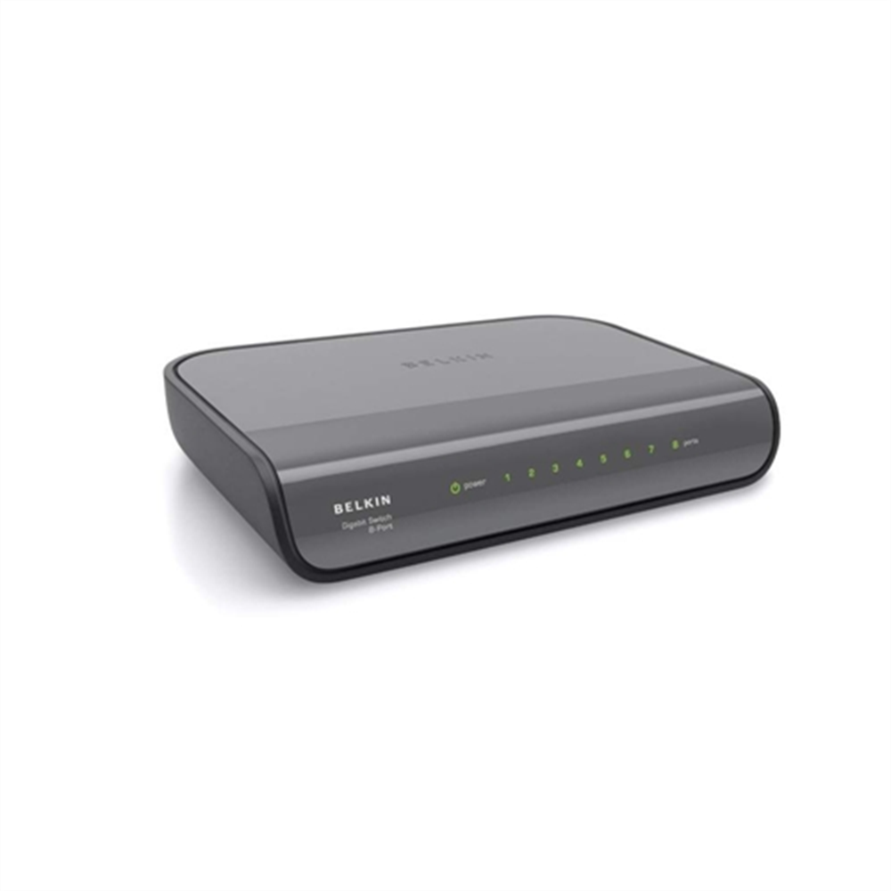 8-Port Gigabit Wired Network Switch - HeroImage