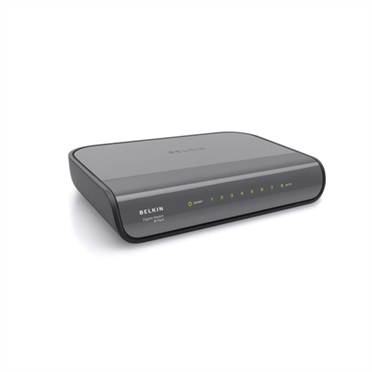 8-Port Gigabit Wired Network Switch -$ HeroImage