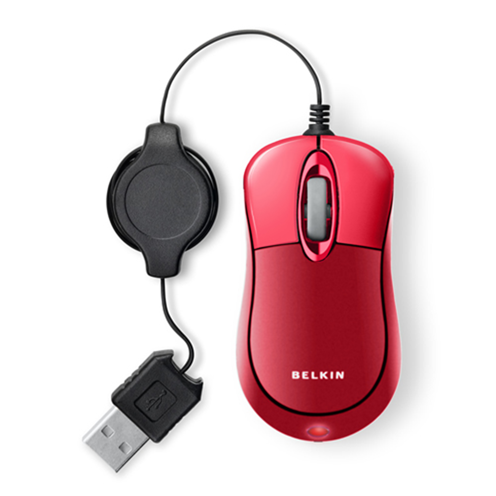 Retractable Travel Mouse - HeroImage