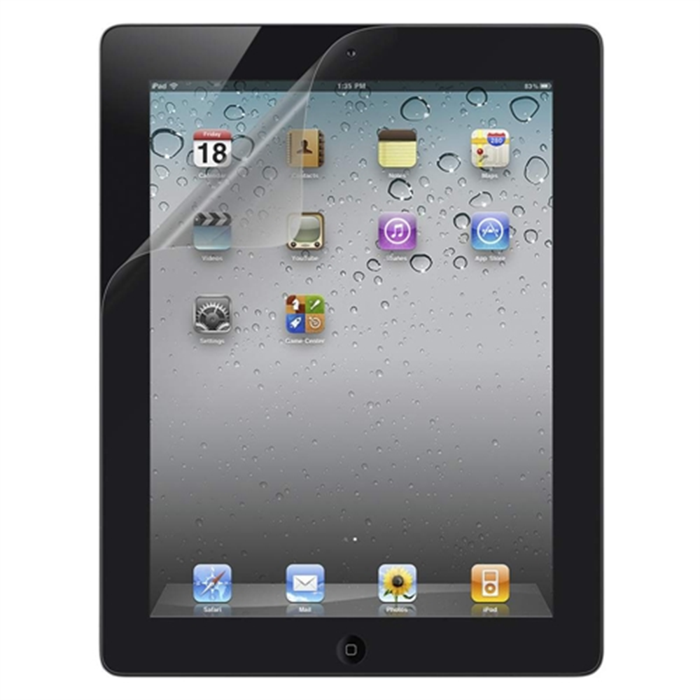 TrueClear Transparent Screen Protector for iPad 2/3/4 - HeroImage