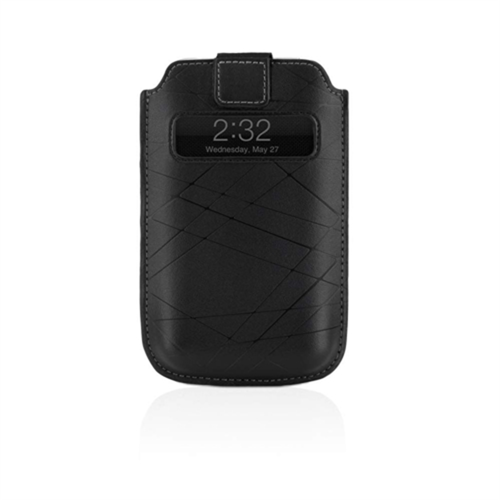 Leather Sleeve with Pull-Tab for iPhone 3G/3G-S - HeroImage