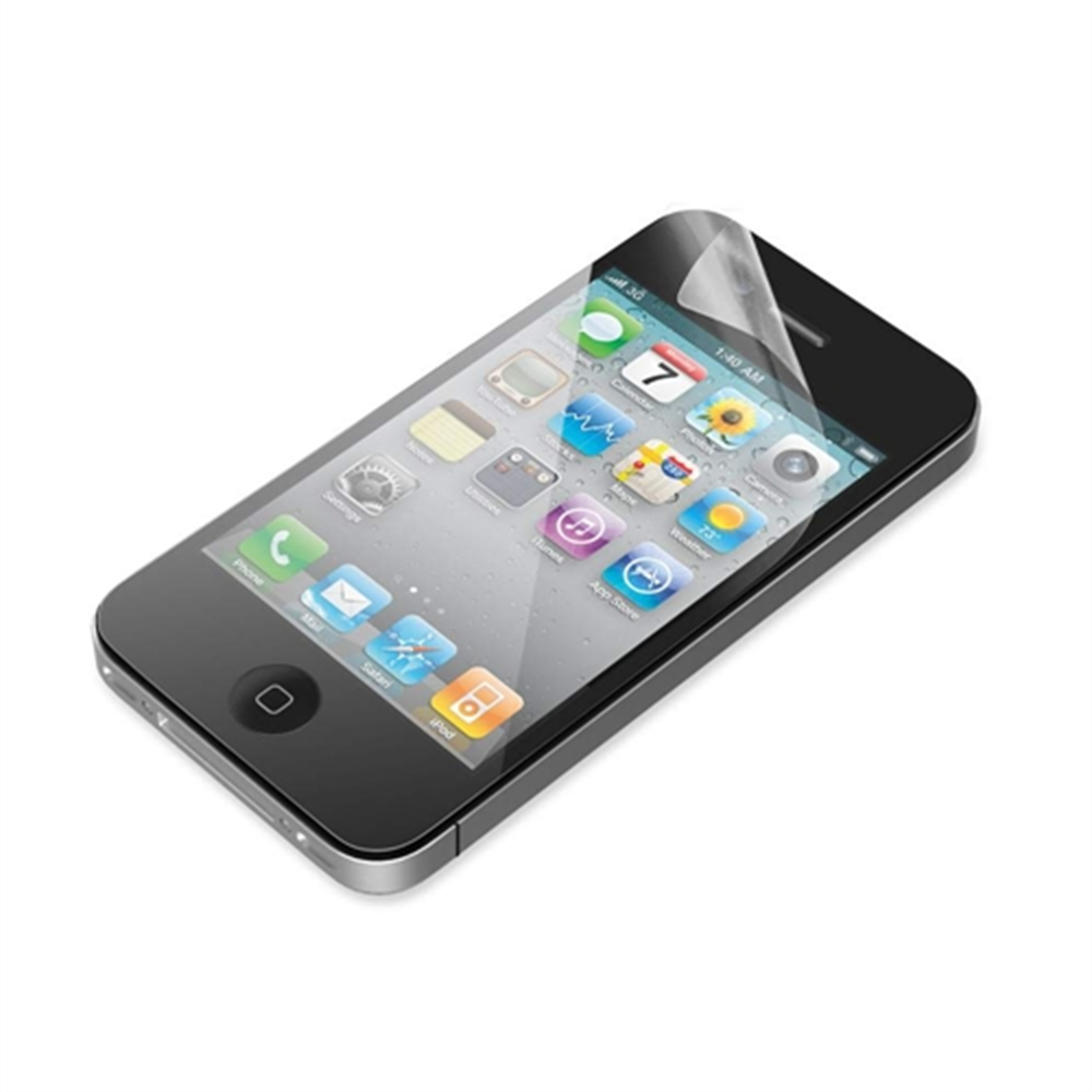 TrueClear Transparent Screen Protector for iPhone 4/4S - 3 Pack - HeroImage