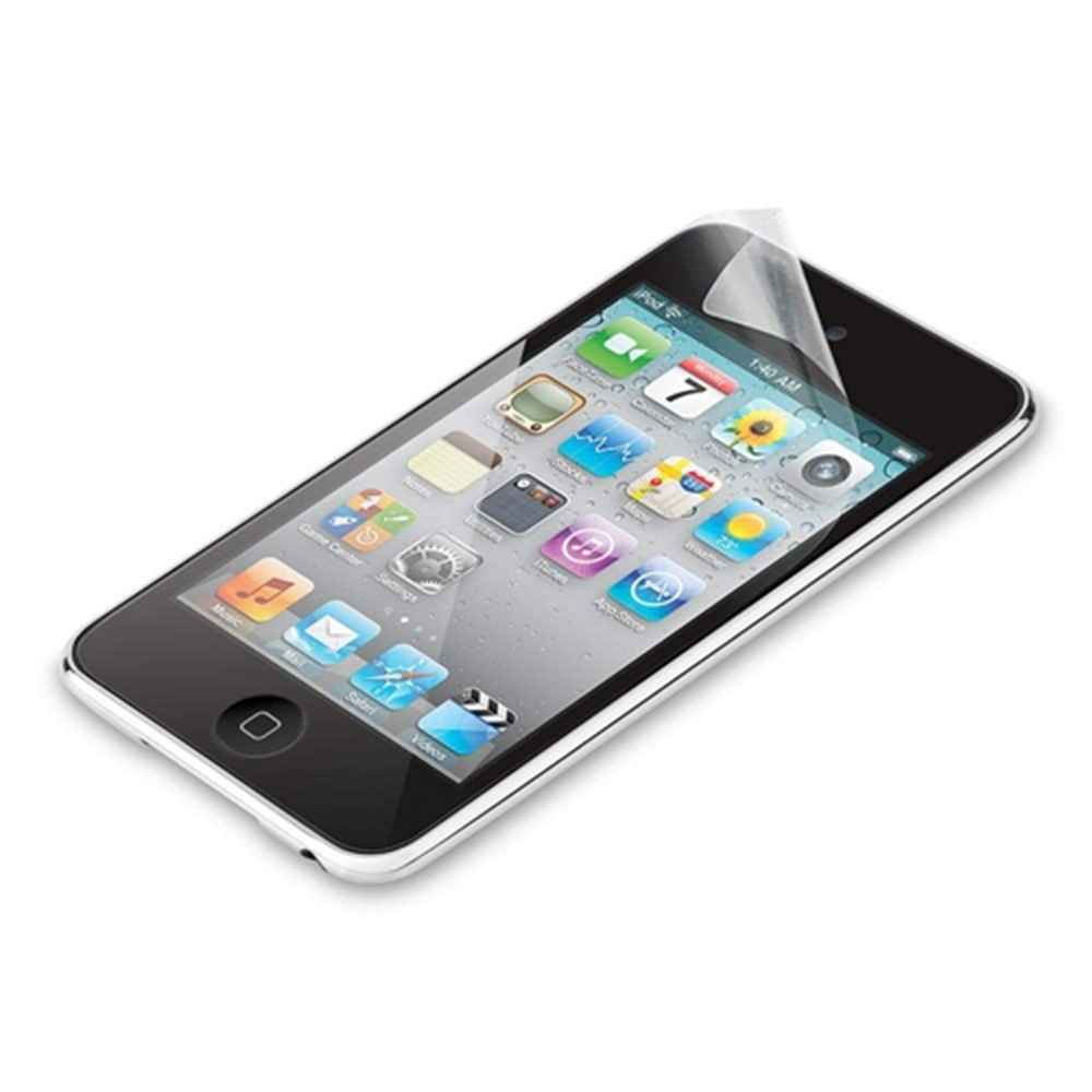 TrueClear Transparent Screen Protector for iPod Touch 4G - HeroImage